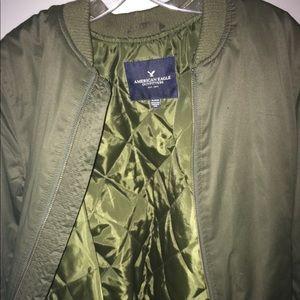 Medium American Eagle Army Green Jacket